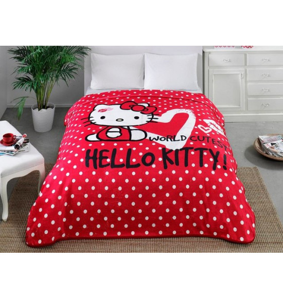 Плед TAC Hello Kitty 220х240 см