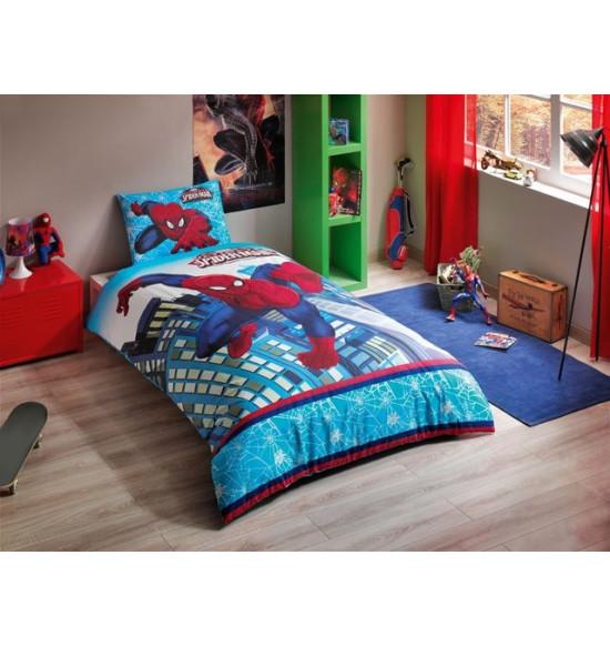 Детское постельное белье TAC 1.5 сп. Ranforce Spiderman Ultimate