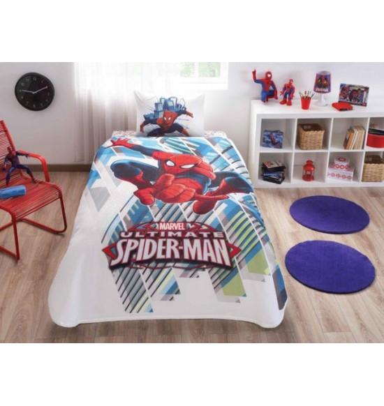 Комплект TAC 1.5 сп. Spiderman Homecoming с летним вафельным покрывалом