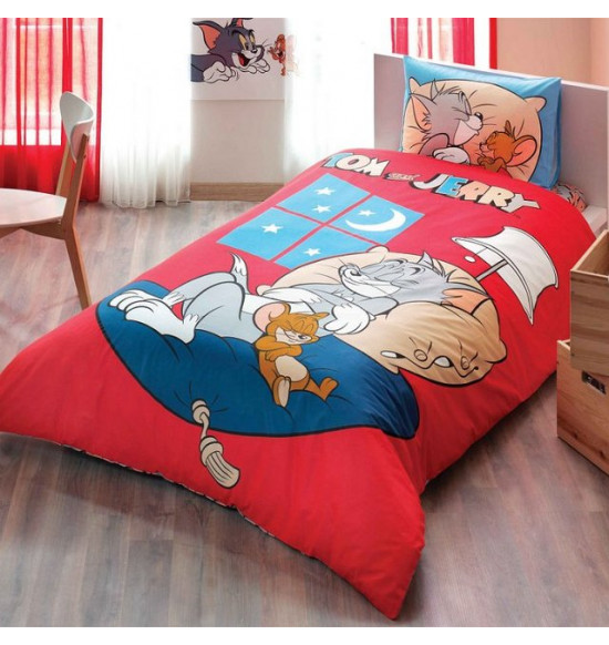 Детское постельное белье TAC Tom&Jerry Good Night 1,5 сп.