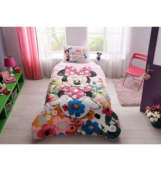 Детский комплект постельный с одеялом TAC Disney Minnie