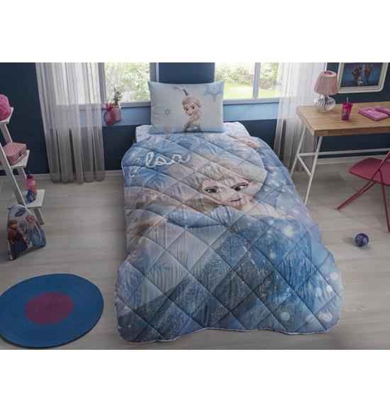Детский комплект постельный с одеялом TAC Disney Frozen