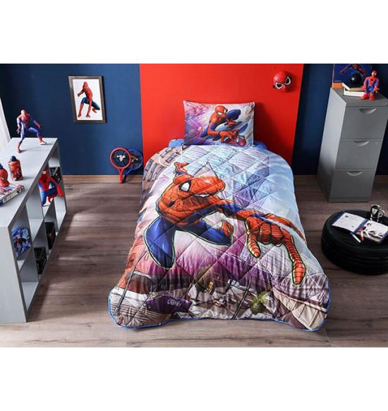 Детский комплект постельный с одеялом TAC Spiderman