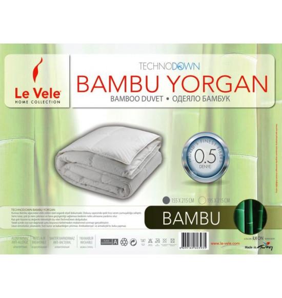 """Одеяло бамбуковое  """"Le Vele"""" Нано 195х215 см"""