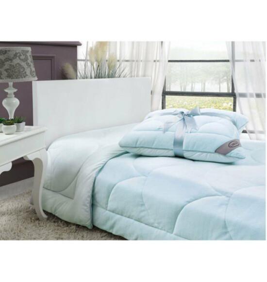 Подушка Linens Velvet 50x70 см (голубой)