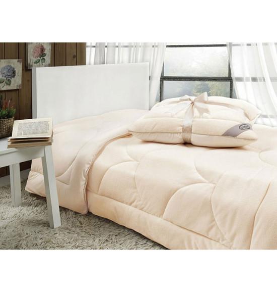 Одеяло Linens Velvet, 2.0 сп. 195x215 см (крем)