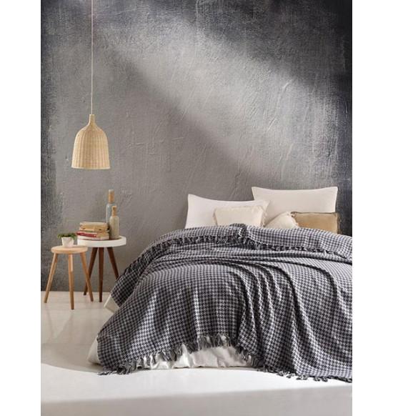"Плед ""DIVA"" Grand Cotton 200х220 см (серый)"