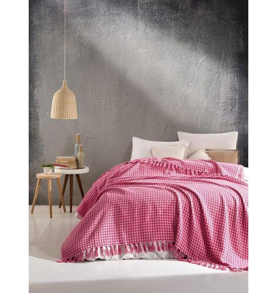 "Плед ""DIVA"" Grand Cotton 200х220 см (розовый)"