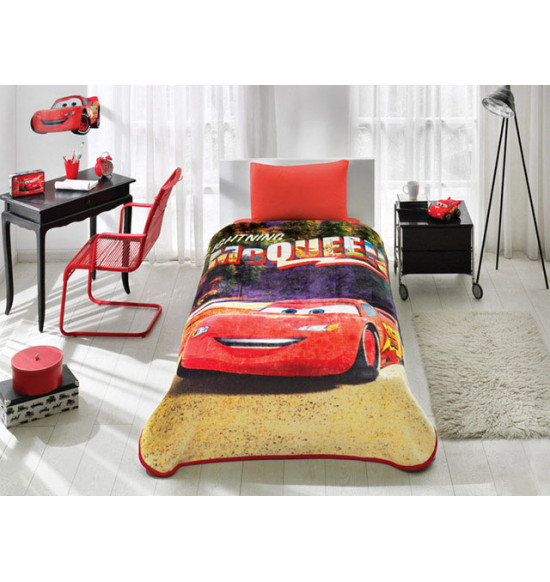Плед детский TAC Disney Cars Lighthing Speed 160x220 см