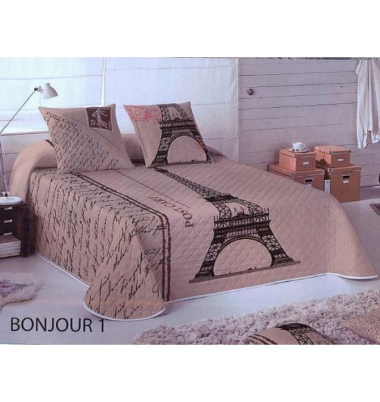 Покрывало на кровать Divayne BONJOUR 230x260 см + 2 нав.