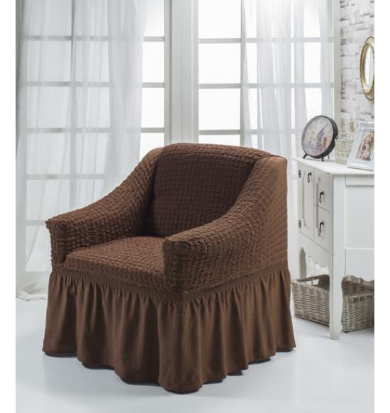 """Чехол для кресла """"BULSAN"""" (коричневый)"""