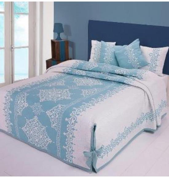 """Покрывало на кровать """"A. Salgado"""" Catalina 240х270 см (цвет болотный)"""