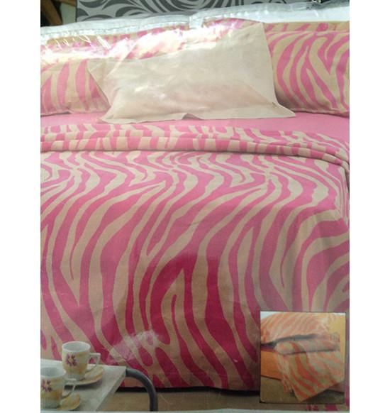 Покрывало на кровать Italia 3 brown размер 240х260 серый/шоколад