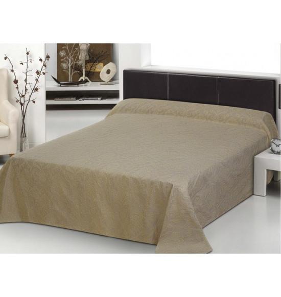 Покрывало на кровать Bacarat 240х270 см (бежевое)