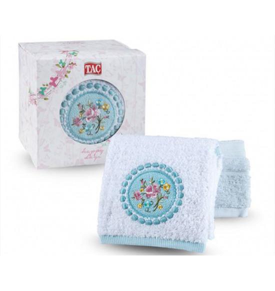 Набор полотенец с вышивкой в коробке Tac City 50x90 см 1/2