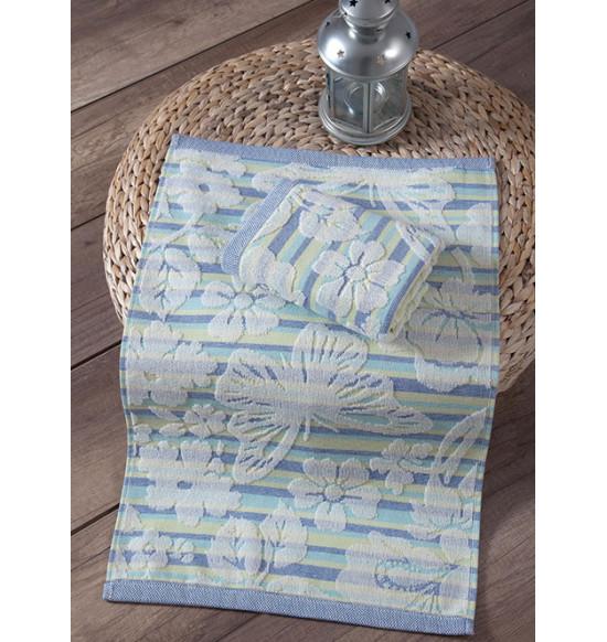 "Кухонное полотенце махровое ""KARNA"" Mariposa 40х60 см 1/1 (зеленый)"