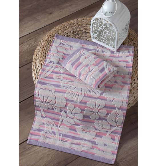 """Кухонное полотенце махровое """"KARNA"""" Mariposa 40х60 см 1/1 (розовый)"""
