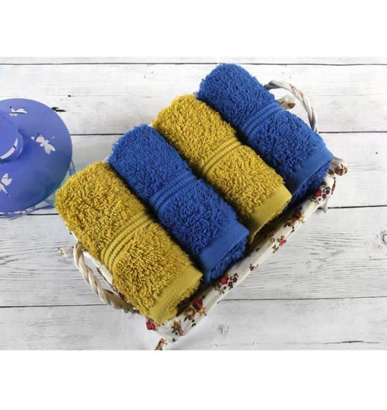 Набор полотенец в подарочной корзине Irya Mosaic 30х50 см 1/4