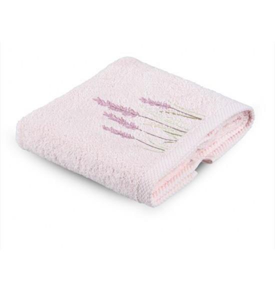 Полотенце махровое с вышивкой Tac Rabula 50x90 см (абрикос)