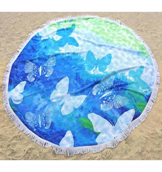 Полотенце пляжное круглоеIrya Bahama 150 см