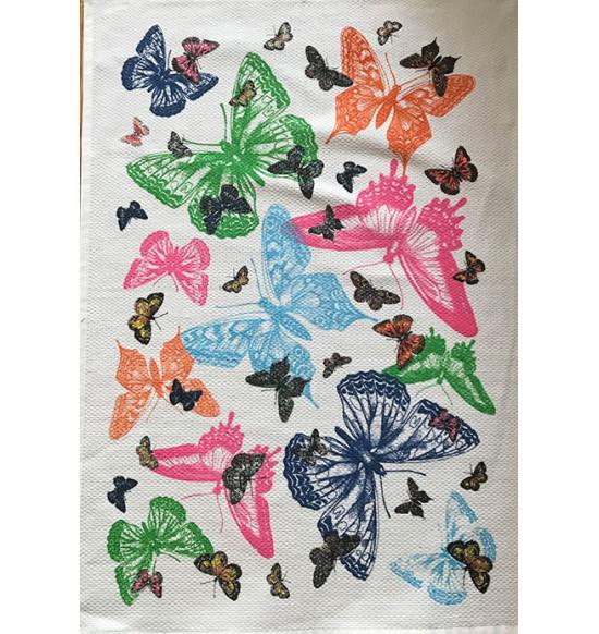 """Кухонное полотенце махровое """"Diva"""" Butterfly 50х70 см"""