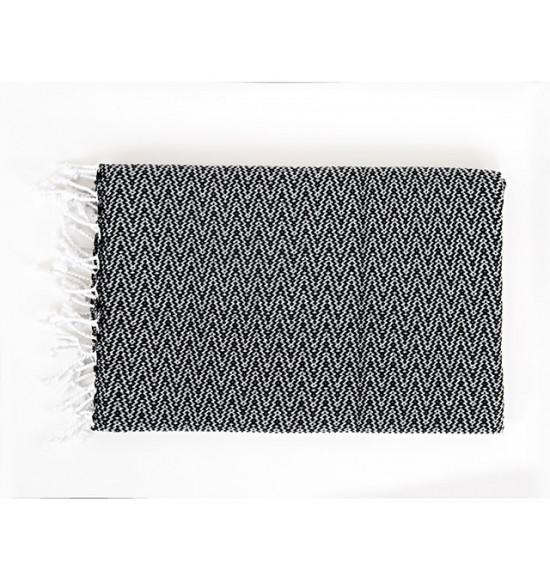 Полотенце пляжное Irya Ilgin 90x170 см (черный)