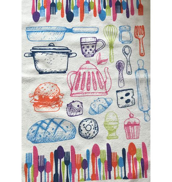 """Кухонное полотенце махровое """"Diva"""" Kitchen 40х60 см"""