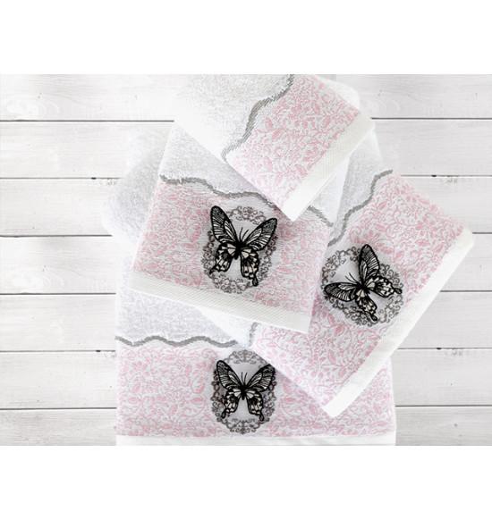 Полотенце IRYA Mira CORESOFT 30x50 см (розовое)
