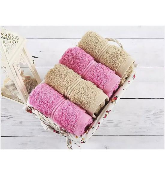 Набор полотенец в подарочной корзине Irya Softy 30х50 см 1/4