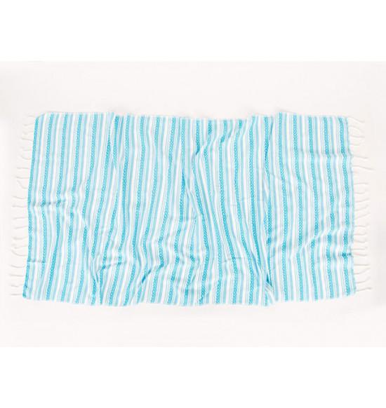 Полотенце пляжное Irya Velovis 90x170 см (бирюзовый)