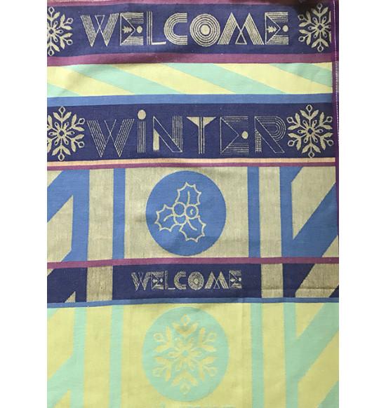 "Кухонное полотенце махровое ""Diva"" Welcome winter 50х70 см"
