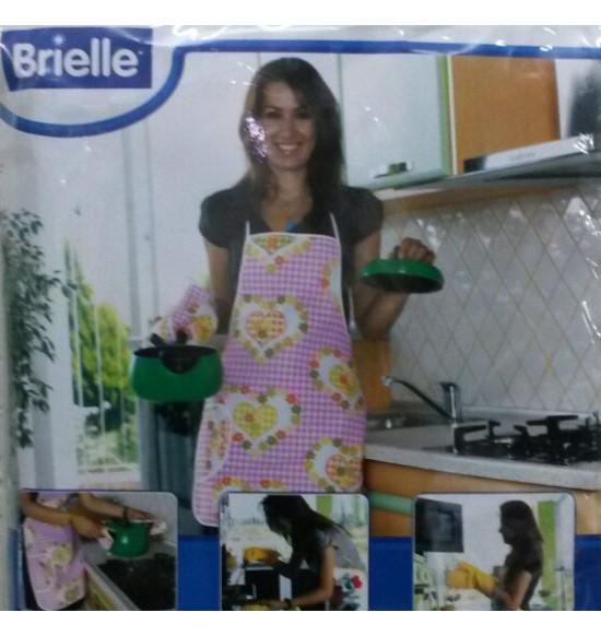 Набор для кухни BRIELLE (фартук, варежка, 2 прихвата)