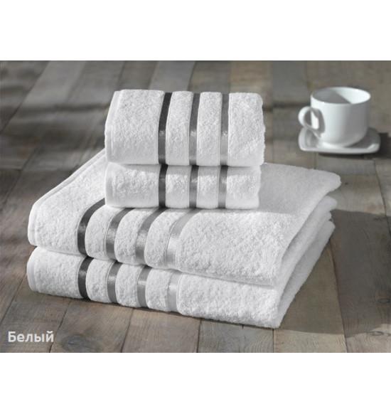 "Комплект полотенец ""Karna"" Bale 50х80 (2шт) 70х140 (2 шт) (Белый)"