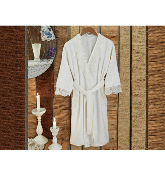 Халат бамбуковый Irya Fantazi Marlin 50-52 крем
