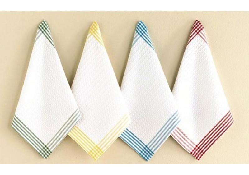 Как отстирать цветные кухонные полотенца в домашних условиях 731